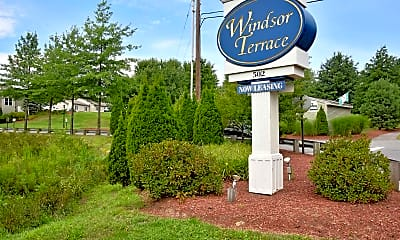 Community Signage, Windsor Terrace, 2