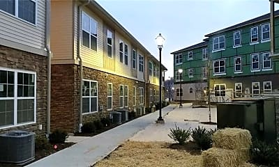 Building, Riverside Courtyard, 1
