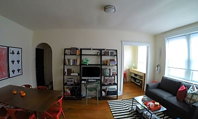 Living Room, 4045 Baltimore Avenue, 2
