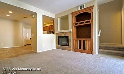 Living Room, 7875 Via Montebello, 1