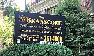 Branscome Apartments, 1