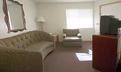 Living Room, Blair House Furnished Suites, 1