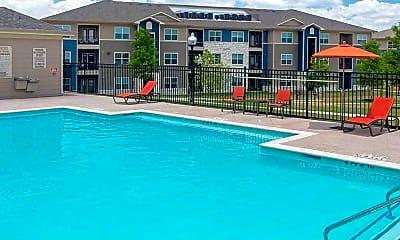 Pool, Sansom Ridge Apartments, 1
