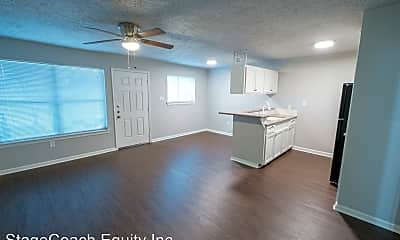Living Room, 6519 Sloan St, 1