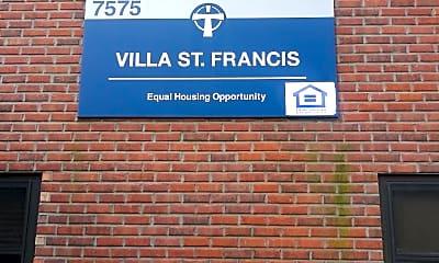 Villa St Francis, 1