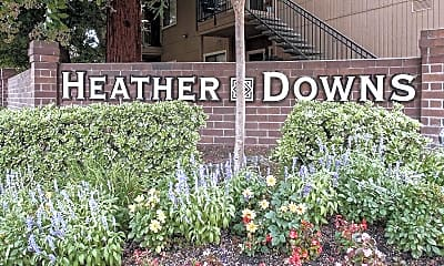 Community Signage, Heather Downs Apartments, 0