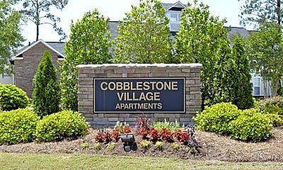 Community Signage, Cobblestone Village, 2