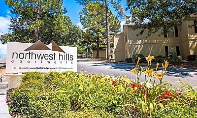 Community Signage, Northwest Hills, 0
