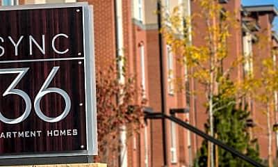 Community Signage, Sync36, 2