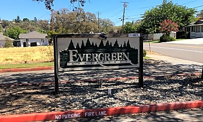 Evergreen Apartments, 1