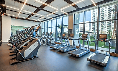Fitness Weight Room, 550 NW 5 Ave, 2