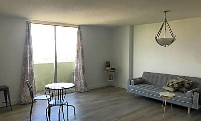 Living Room, 3000 Coral Way, Apt 1409, 1