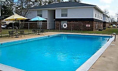 Pool, College Town Apartments, 0