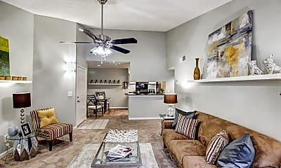 Living Room, Harbor Pointe, 1