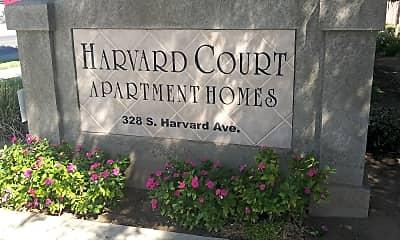 Harvard Court Apartments, 1