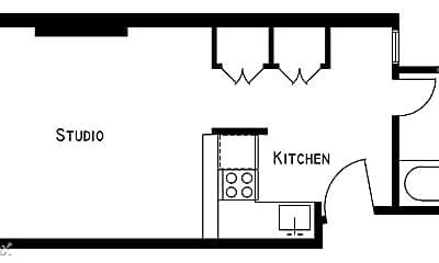 Bathroom, 315 E 81st St, 2