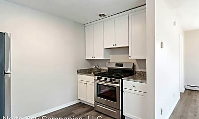 Kitchen, Richlyn Apartments - Affordable Studio Apartments, Great Location!, 0