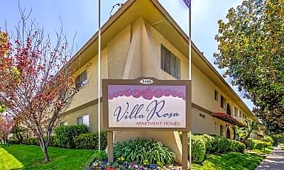 Community Signage, Villa Rosa, 2