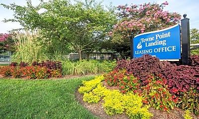 Community Signage, Towne Point Landing, 0
