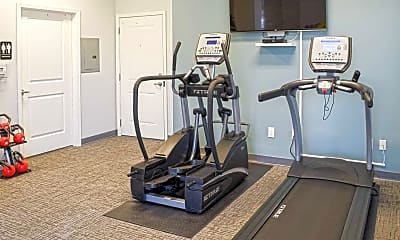 Fitness Weight Room, Park at Drexel, 1