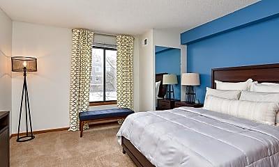 Bedroom, Westwind Apartments, 1