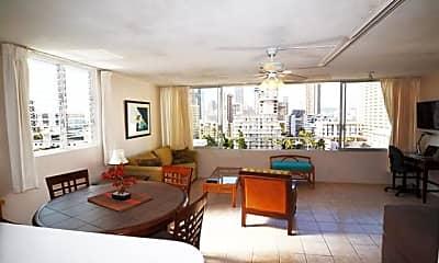 Living Room, 435 Seaside Ave 1202, 1
