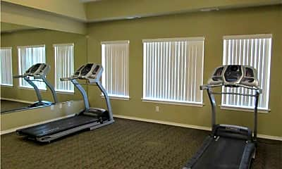 Fitness Weight Room, Falls Creek Apartments, 2