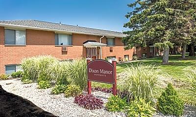 Community Signage, Dixon Manor, 2