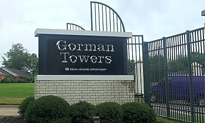 Gorman Towers, 1