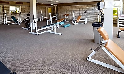 Fitness Weight Room, Randall Park, 2