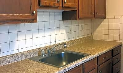 Kitchen, Shamrock Apartments, 1