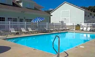 Pool, Rose Lawn Apartments, 0