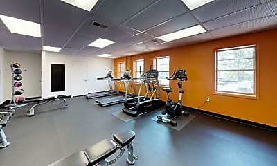 Fitness Weight Room, The Highland Midtown, 2