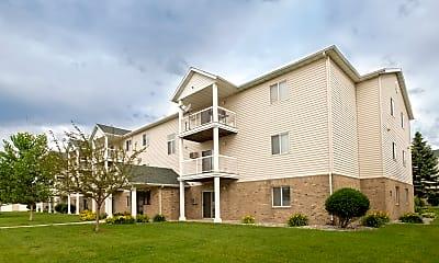 Building, Pinehurst Apartments, 0