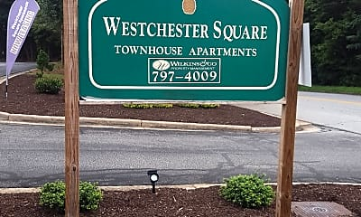 Westchester Square Townhouse Apartments, 1