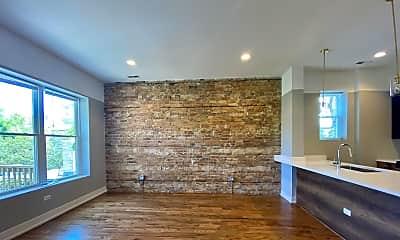 Living Room, 1836 W Augusta Blvd, 2