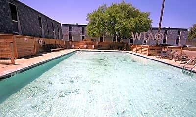Pool, 1720 E Woodward, 1