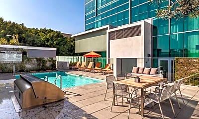 Pool, Sunset Vine Tower, 0