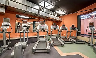 Fitness Weight Room, American Tobacco Center, 2