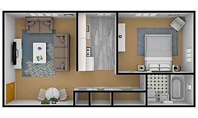 Bathroom, 1750 Clifton Ave, 2