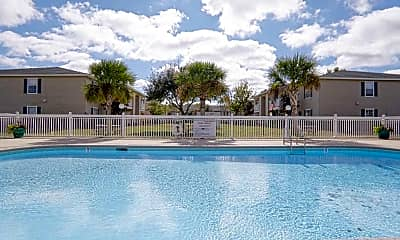 Pool, Magnolia Bay Apartments, 2