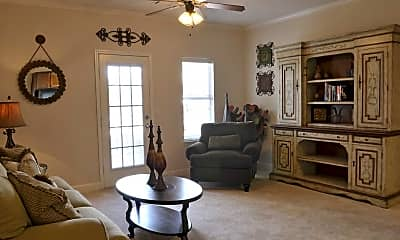 Living Room, Bedford Parke Apartment Community, 0