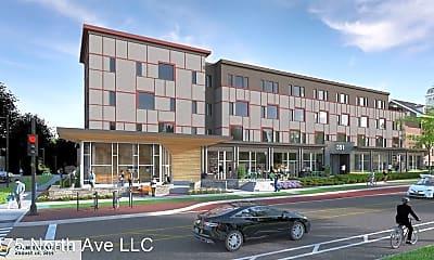Building, 351 North Avenue, 0