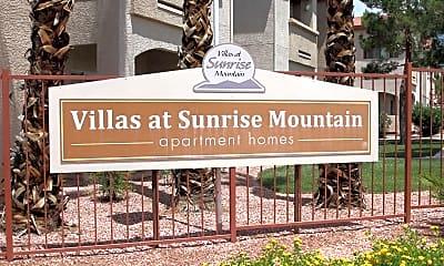 Community Signage, Villas at Sunrise Mountain, 2