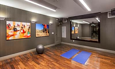 Fitness Weight Room, The Verdant, 2