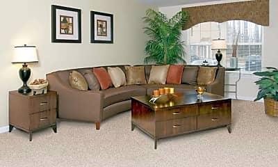 Living Room, Carlson Woods Townhomes, 1