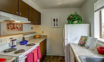 Kitchen, Crystal Springs, 1
