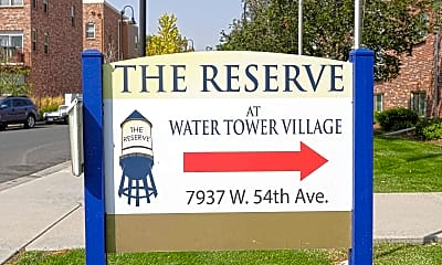 Community Signage, The Reserve at Water Tower Village, 2
