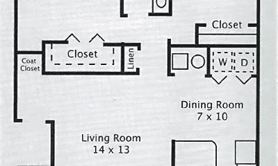 Bathroom, 1818 W 700 N, 2