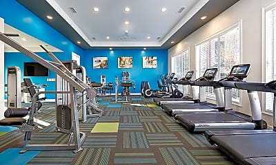 Fitness Weight Room, Bexley at Triangle Park, 1